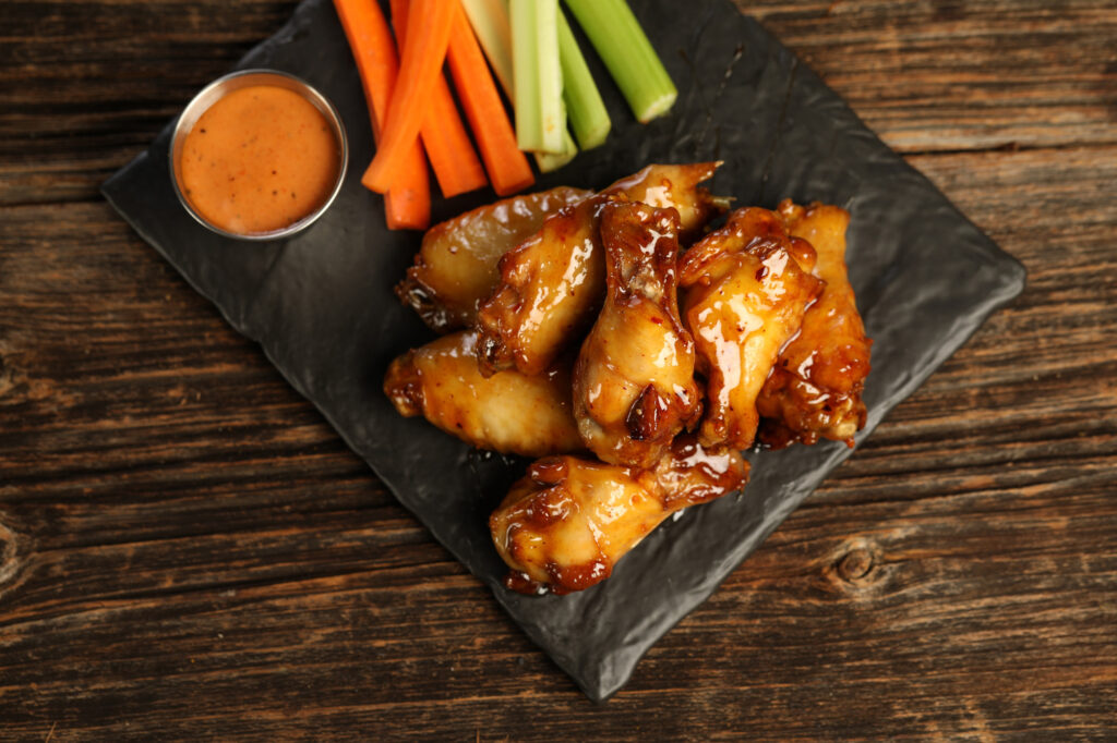 The Wing Dynasty Spicy Orange